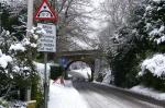 Snow rail bridge