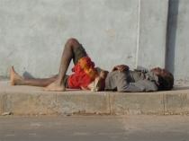 Boy on street