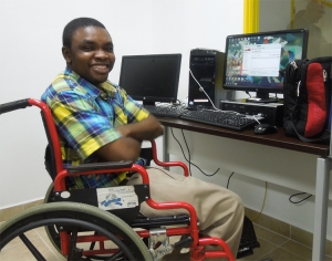Wheelchair computer technician