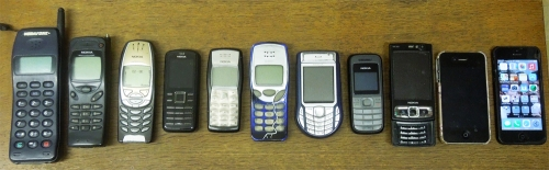 Mobile 'phones small