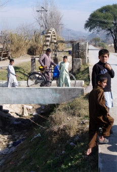 Irrigation and people