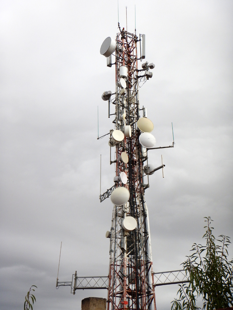 Mobile tower 2 Catalunya