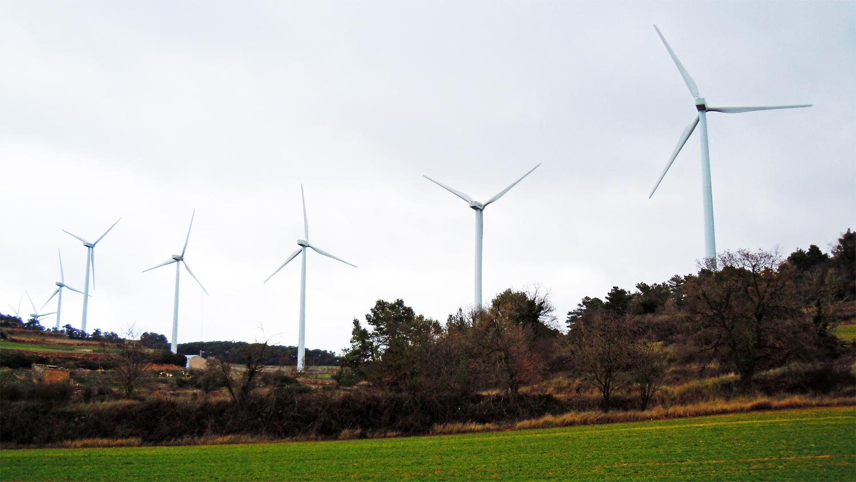 Turbines in Catalunya