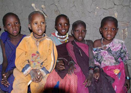 Masai children 2